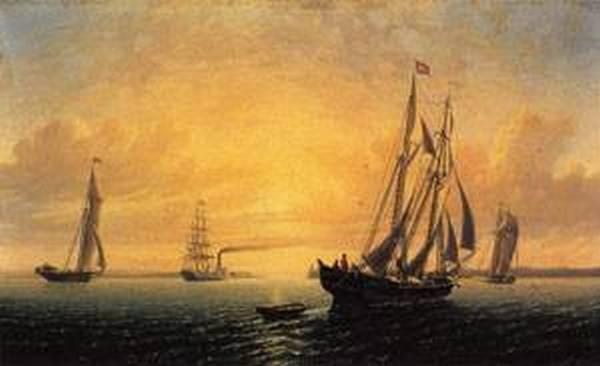 New big the schooner jane of bath maine 1857
